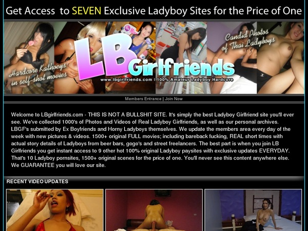 Sign Up For LB Girlfriends