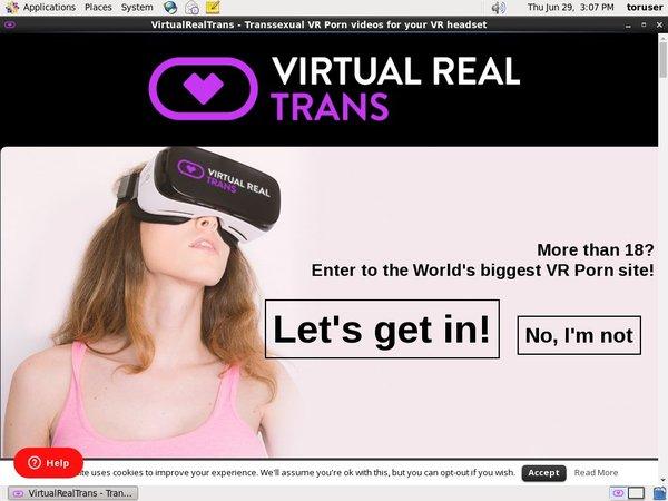 Virtual Real Trans Free Account