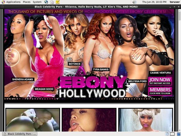 Ebonyhollywood.com Premium Pass