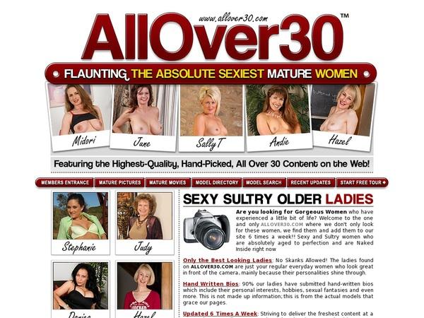 Allover30.com Free Trial Code
