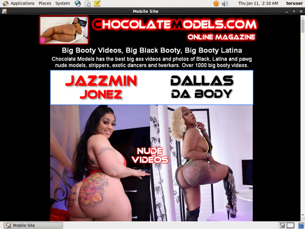 Chocolate Models Account Gratis