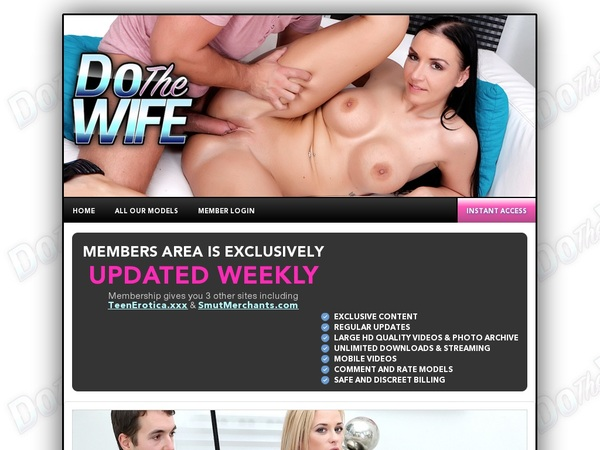 Dothewife.com Paypal Access