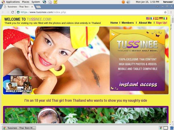 Tussinee Logins Free