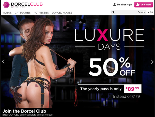 Dorcel Club Yearly Membership