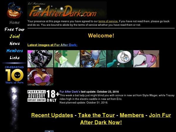 Free Fur After Dark Logins