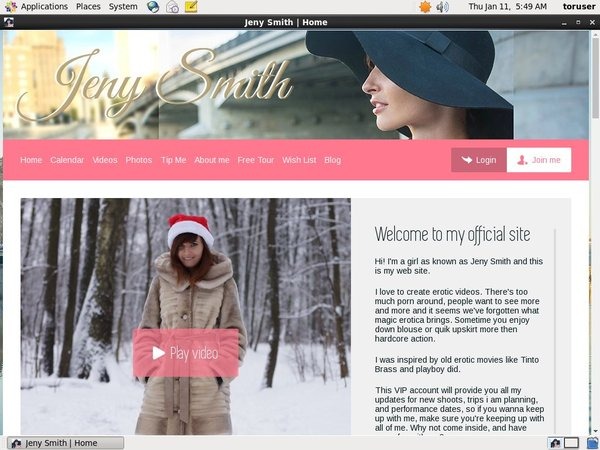 Jenysmith.net Free Account Password