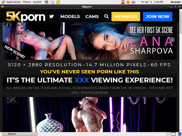 5K Porn Discount Promotion