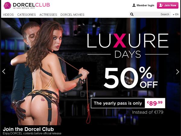 Dorcel Club Trial Videos