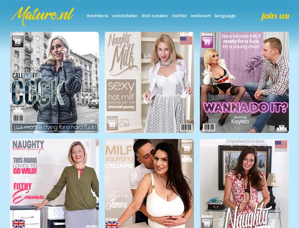 Mature.nl Free Trial Membership