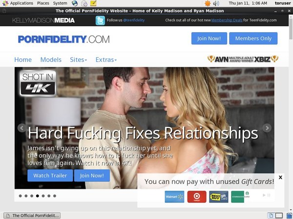 Pornfidelity.com Gratis Password