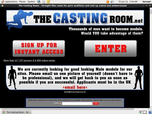 The Casting Room Save Money