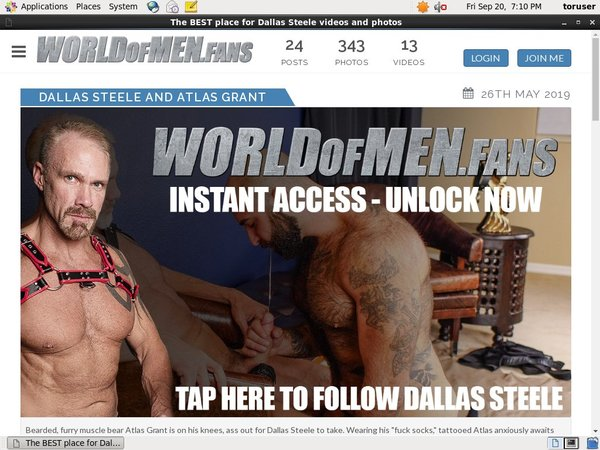 Dallassteele.worldofmen.fans Cargo Automático