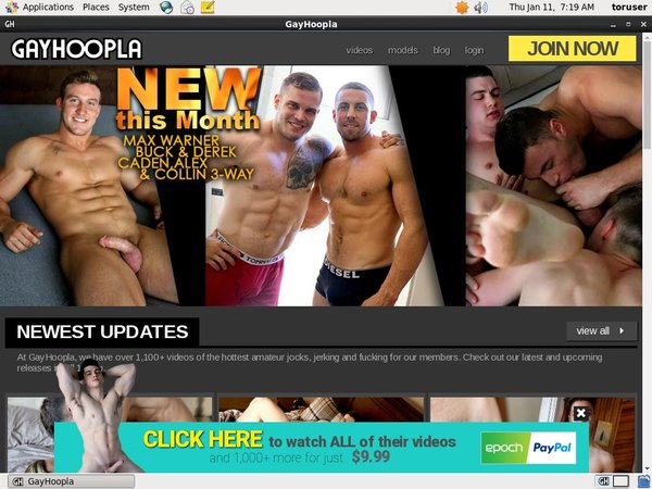 Gay Hoopla Discount Checkout