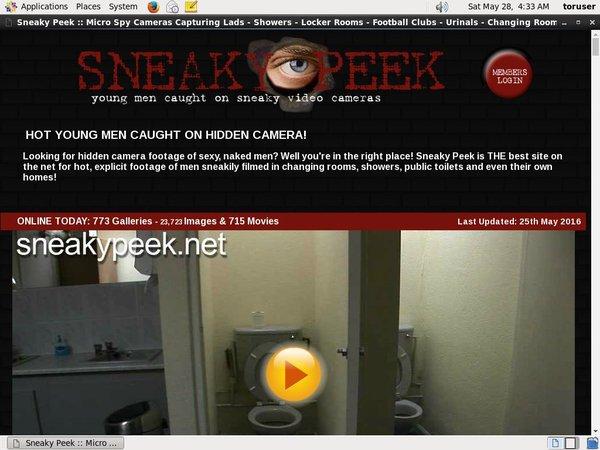 Free Sneakypeek.net Promo Code
